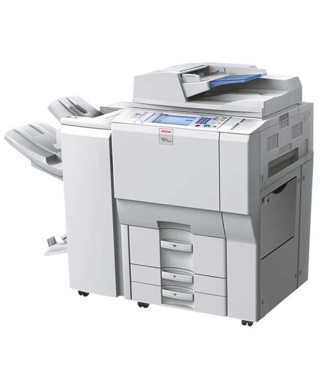 how to make a booklet on ricoh printer
