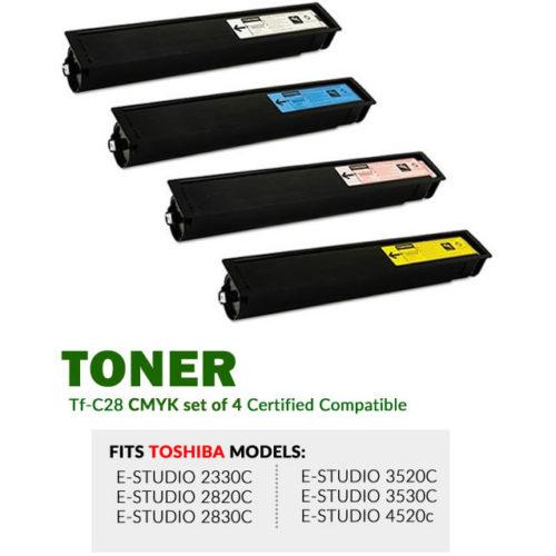 Toshiba TFC28 CMYK