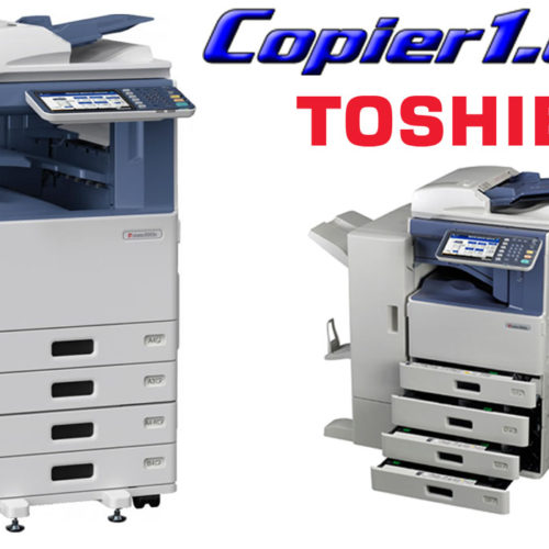 copier1 with finisher toshiba estudio 3055c