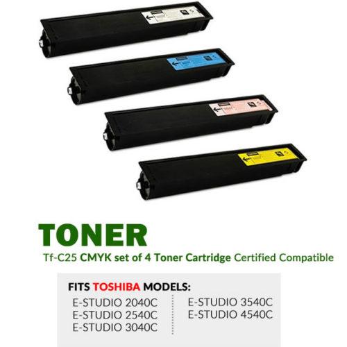 Toshiba TFC25 CMYK