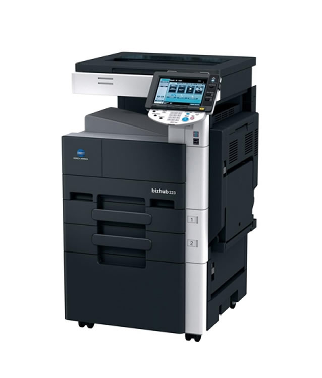 KONICA MINOLTA BIZHUB 223 TREIBER WINDOWS 10